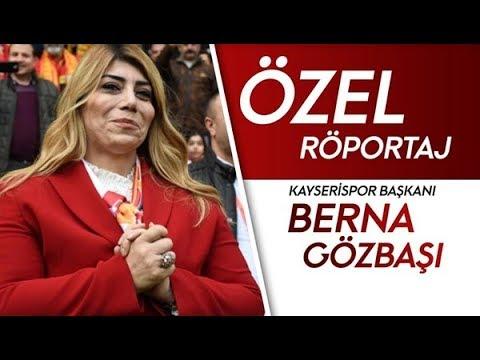 Kayserispor Başkanı Berna Gözbaşı | Özel Röportaj | Emre Demir Satılacak Mı?