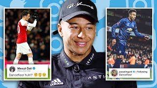 JESSE LINGARD REACTS TO ARSENAL SOCIAL MEDIA BEEF | #UNFILTERED