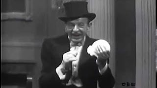 The Great Cardini Performing Great Magic. 1957 Rare Footage