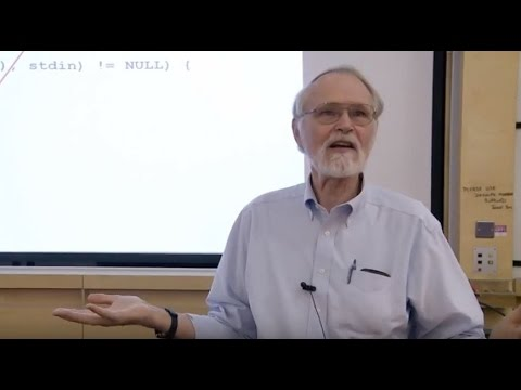 Computer Science - Brian Kernighan on successful language de