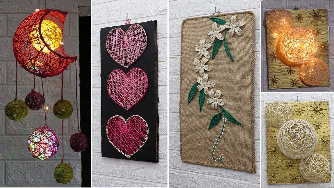 6 Jute Craft Ideas | Home decorating ideas handmade | New 2020
