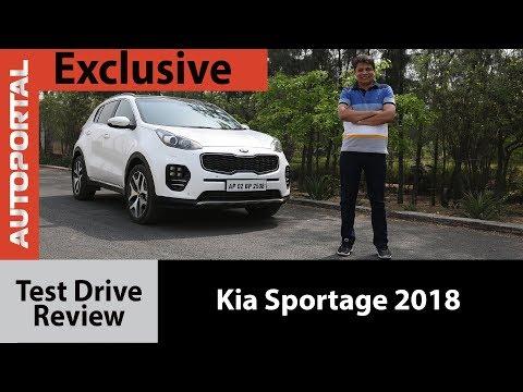 Exclusive - Kia Sportage 2018 Test Drive Review - Autoportal