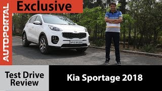 Exclusive - Kia Sportage 2018 Test Drive Review - Autoportal