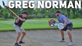 Epic Game of HORSE ft. Greg Norman | Brodie Smith