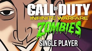 Call of Duty Infinite Warfare Zombies In Spaceland Gameplay - Single Player (no commentary)
