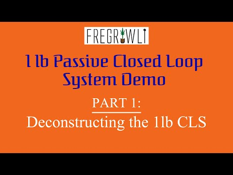 Part 1: 1lb Passive Closed Loop System From Best Value Vacs