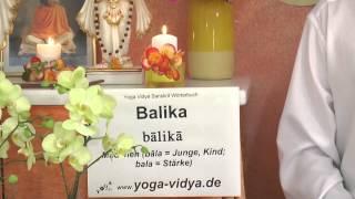 Balika - Mädchen - Sanskrit Wörterbuch