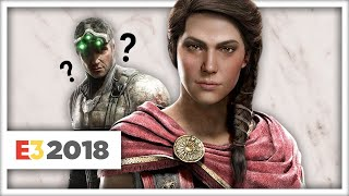 Asssassin's Creed Odyssey! But, No Splinter Cell? - Ubisoft E3 2018 Roundup