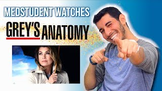 Real Medical Student Reacts to GREY'S ANATOMY   Medical Drama Review   Doctor Disney