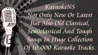 Tum Mile Dil Khile Criminal, Indian Hindi Karaoke By KaraokeNS YouTube