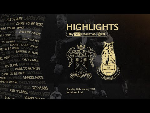 Cheltenham Oldham Goals And Highlights