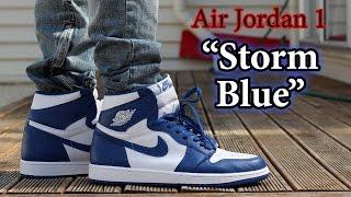 storm blue jordan