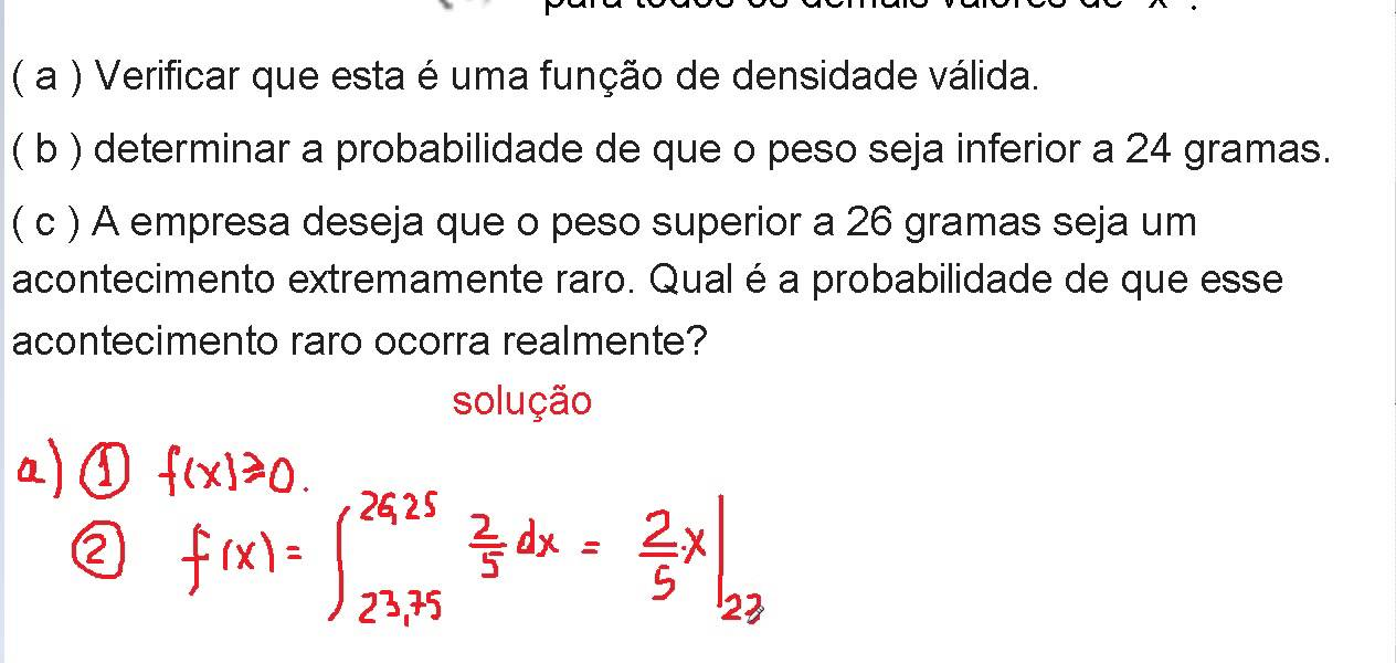 Calculando probabilidade
