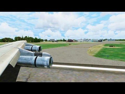 TWA Boeing 707 Landing @ Eastern West Virginia Regional ( Wing ) ( HD )