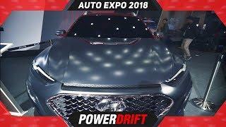Hyundai Kona @ Auto Expo 2018 : PowerDrift