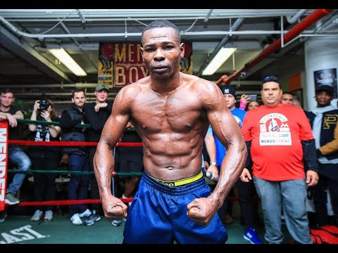 Guillermo Rigondeaux Media Workout in New York