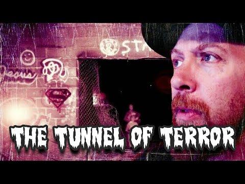 The Tunnel of Terror! Urban Exploring  Abandon Railroad Caves! Manitou Springs Colorado
