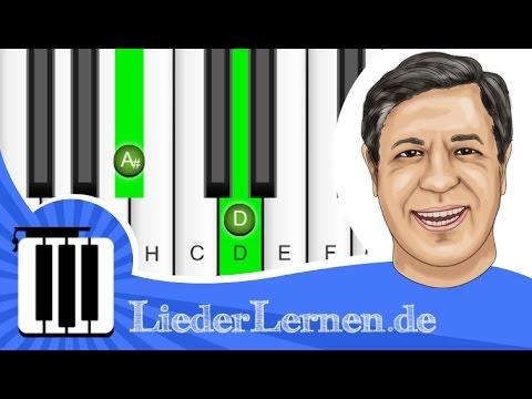 Franzl Lang - Einen Jodler Hör I Gern - Klavier lernen - Musiknoten - Akkorde
