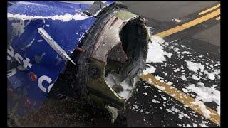 Un moteur d'un Boeing 737 explose en vol, un passager filme