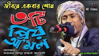 জীবনে একবার শোন ৩টি প্রিয় আমল | new bangla waz 2019 | মাওলানা আব্দুর রাজ্জাক আশরাফী | R S Media