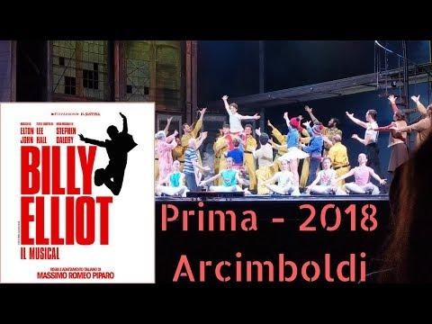 Billy Elliot il Musical - Prima rappresentazione 2018 - Arcimboldi