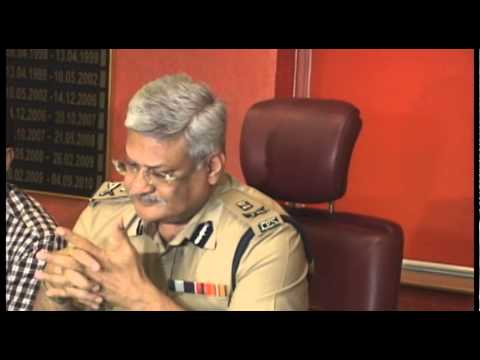 Ahmedabad Police Commissioner brief media on Vishal Goswami's arrest