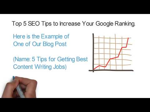 Top 5 SEO Tips to Increase Your Google Ranking