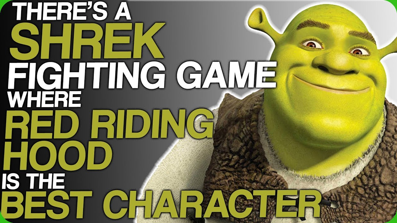 There's a Shrek Fighting Game Where Red Riding Hood is The ...