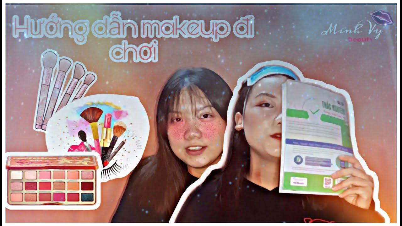 MINH VY BEAUTY || Hướng dẫn makeup nhẹ nhàng đi chơi || #1 💋