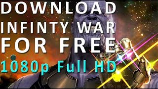How to download avengers infinity war (Full HD 1080p)