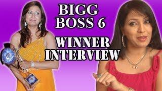 EXCLUSIVE : Bigg Boss 6 Winner Urvashi Dolakia INTERVIEW -- Must Watch!!