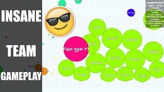 Agar.io | Insane Team Gameplay! | Tigar