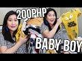 BABY BOY CLOTHING HAUL ( Tag 200 Lang! ) | Kris Lumagui
