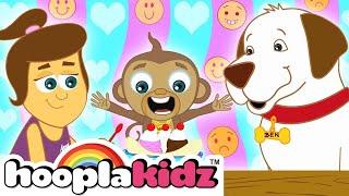 I'm Happy and more | Emotions & Feelings Song |+ More Nursery Rhymes & Kids Songs By HooplaKidz