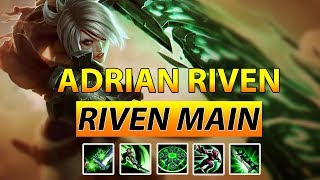 ADRIAN RIVEN New Montage 2018 - High Elo Riven Montage - Best Riven Plays #7
