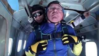 Прыжок Маргелова А.В. г.Киржач 17. 08. 13 1 часть 4000 м. тандем