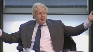 Boris Johnson blasts London Assembly members after being thrown out of meeting