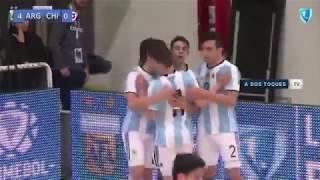 #LigaSudamericana #Sub19 - Argentina vs Chile - #Fecha4