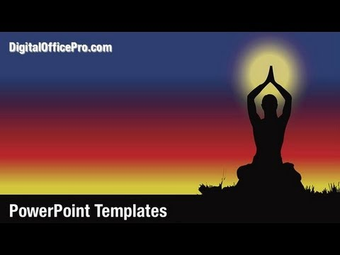 Yoga exercise powerpoint template backgrounds digitalofficepro yoga exercise powerpoint template backgrounds digitalofficepro 09595w youtube toneelgroepblik Image collections