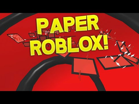 SUPER PAPER ROBLOX GAMEPLAY! Full Walkthrough Chapters 1-8!