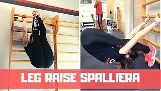Leg Raise alla Spalliera - Incredibile esercizio di Forza e Mobilità
