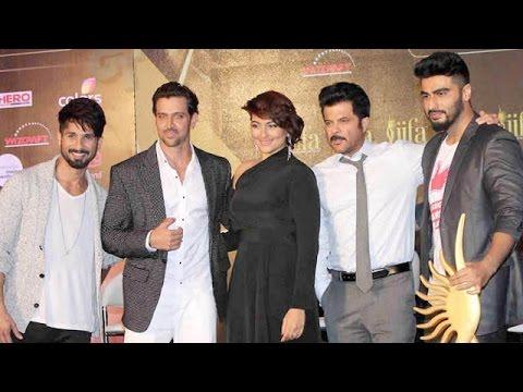 Anil Kapoor, Hrithik Roshan, Shahid, Sonakshi, Arjun ANNOUNCE IIFA 2015