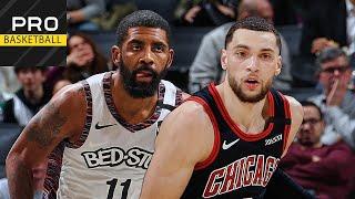 Chicago Bulls vs Brooklyn Nets   Jan. 31, 2019   2019-20 NBA Season   Обзор матча