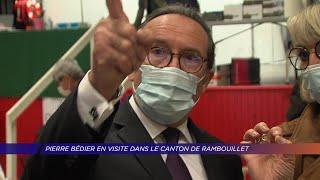 Yvelines | Pierre Bédier en visite dans le canton de Rambouillet