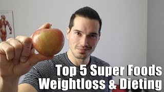 Top 5 Superfoods for Weight Loss w/ Adam Evans - HASfit's Fat Burning Foods to Lose Weight