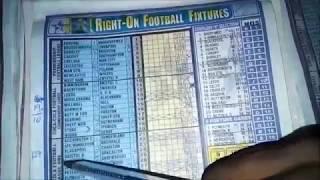 Week 24 Right-On Football Fixture Pool Banker