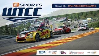 eSports WTCC | Round 05 – Spa-Francorchamps [French Broadcast]