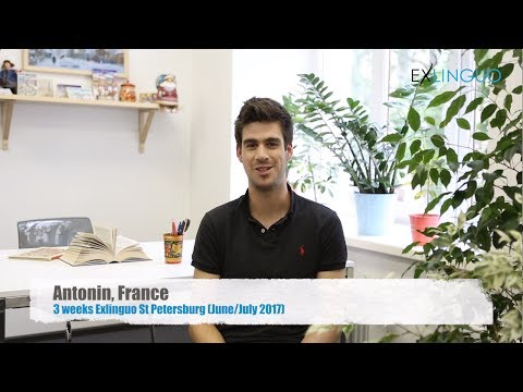 Review (in French) of Exlinguo St Petersburg Russian language school by Antonin