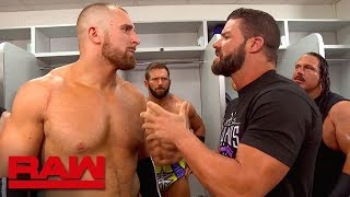 Bobby Roode stands up to Mojo Rawley: Raw, July 30, 2018