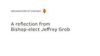 Bishop-elect Jeffrey Grob